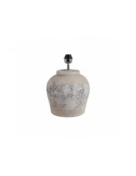 Keramická lampa Etna šedá