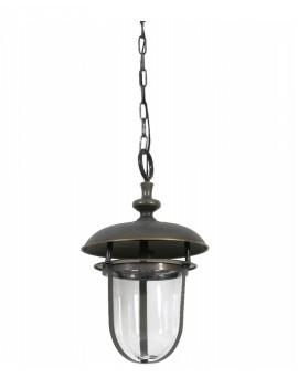Závěsná kovová lampa Lincey