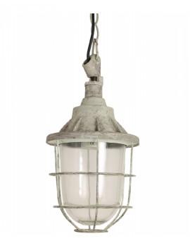 Závěsná kovová lampa Quarry
