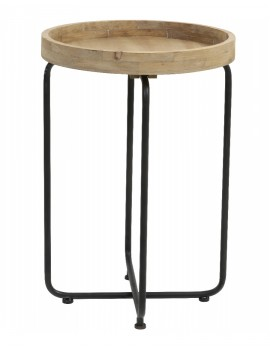 Kovový stolek Tikal