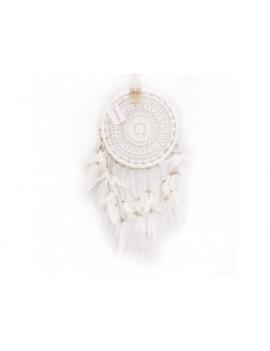 Bílý lapač snů 27 cm