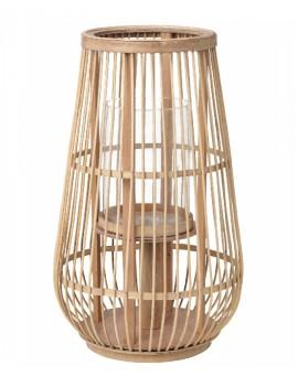 Dřevěná lucerna Cait