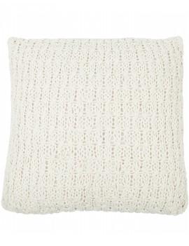 Bavlněný krémový polštář Narbonne
