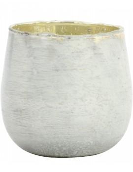 Bílo stříbrný svícen Fontes