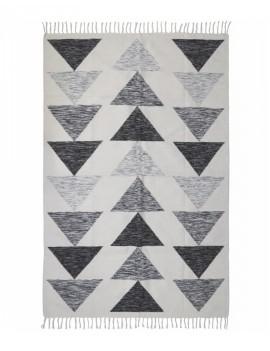 Bílo černý koberec Sarab