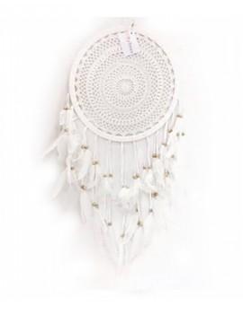 Bílý lapač snů 32 cm