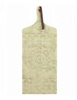 Dřevěné prkýnko s ornamenty