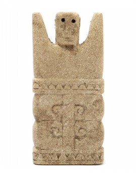 Kamenná soška muže Sumba 02
