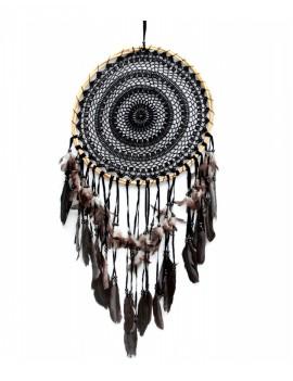 Černý lapač snů 42 cm