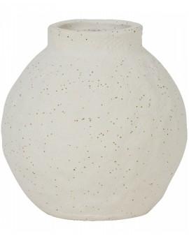 Keramická bílá váza Chomes