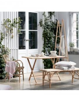Bambusová lavička Kain