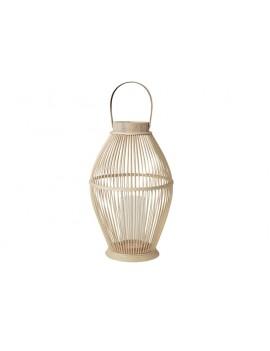 Bambusová lucerna Cage větší