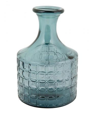 Modrá skleněná váza Grenoble