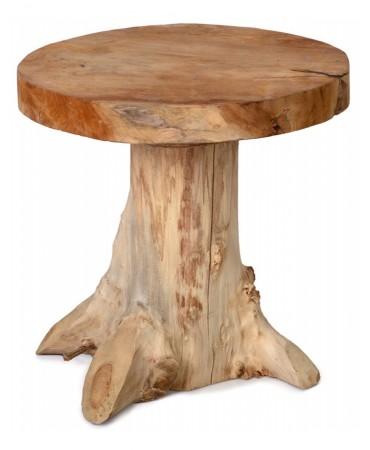 Dřevěný stolek