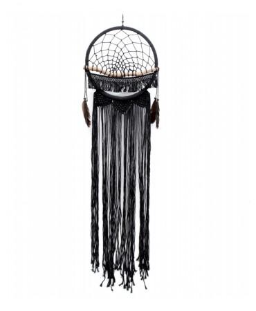 Černý lapač snů 32 cm