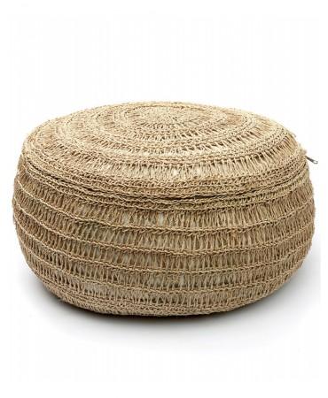 Taburet z mořské trávy natural